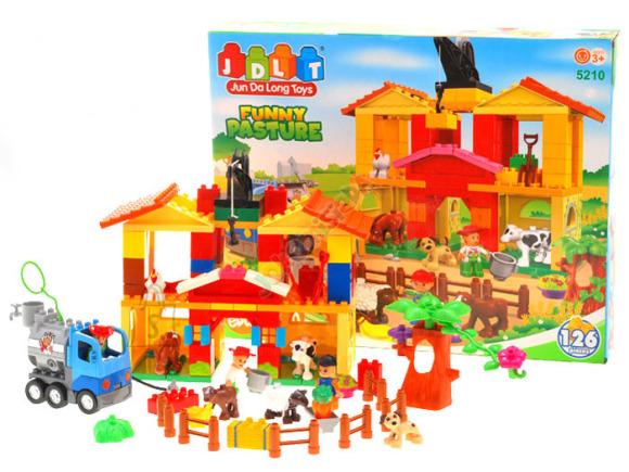 Ehitusklotside komplekt Farm