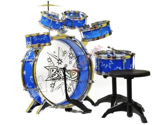 Mängutrummi komplekt, 6 trummi