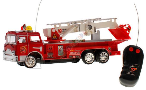 Raadioteel juhitav tuletõrjeauto
