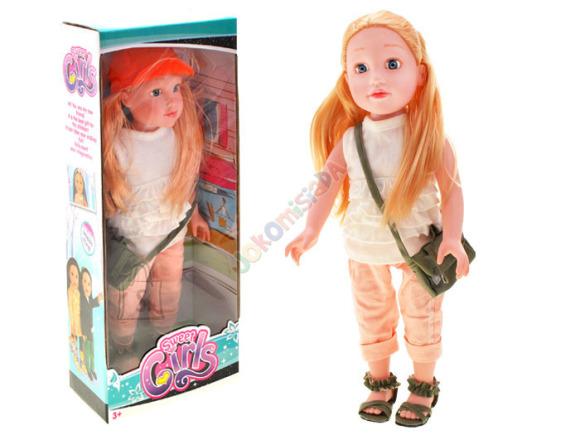 Blond nukk 46 cm