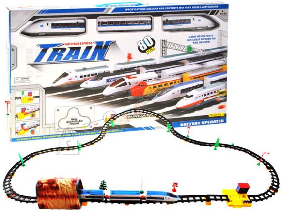 Mängurong koos 450cm rongirajaga