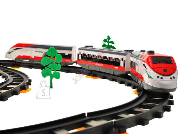 Mängurong koos rongirajaga