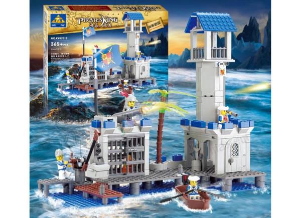 Ehitusklotside komplekt Piraadi linnus