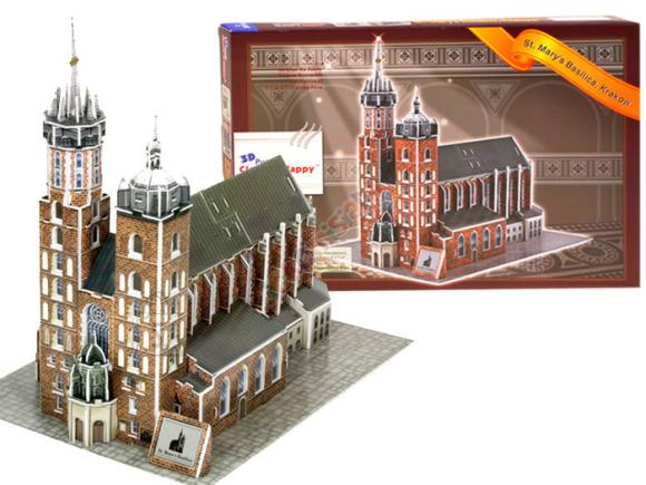 3D pusle, Püha Maarja basiilika 94 osa