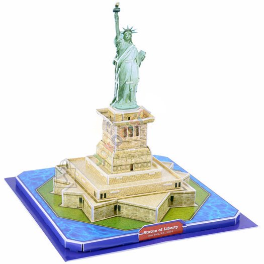 3D pusle Statue of Liberty