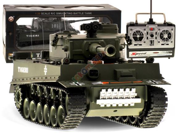 Raadioteel juhtiav tank Tiger RC0252ZI