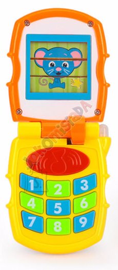 Ineraktiivne mängutelefon lastele