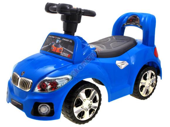 Pealeistutav rooliga tõukeauto lastele