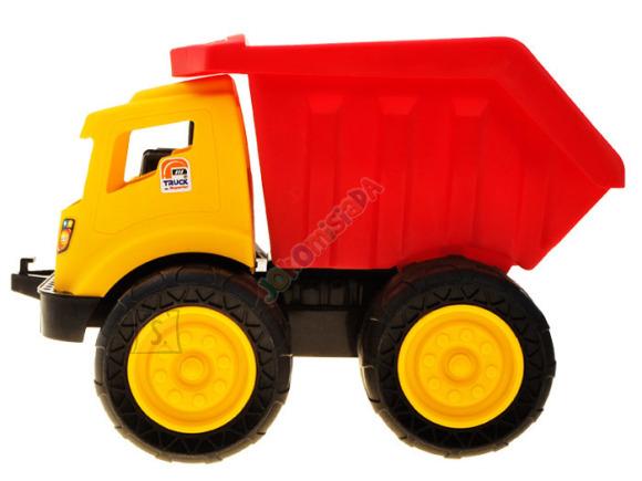 Mängu veoauto kalluriga