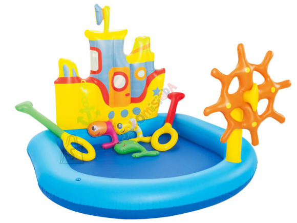 Bestway bassein-mänguväljak laev lastele