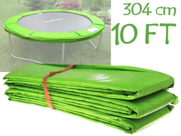 Batuudi turvaäär 304cm roheline