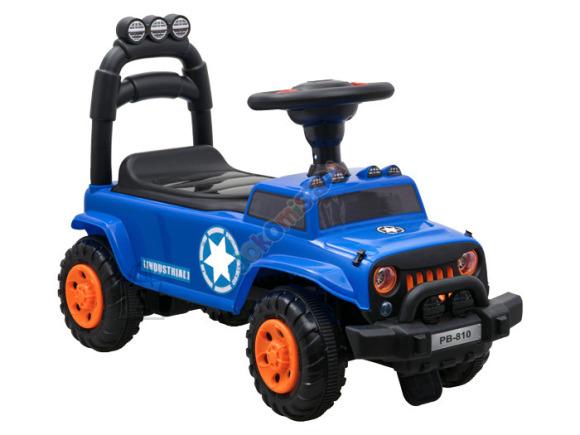Pealeistutav rooliga tõukeauto lastele SP0384