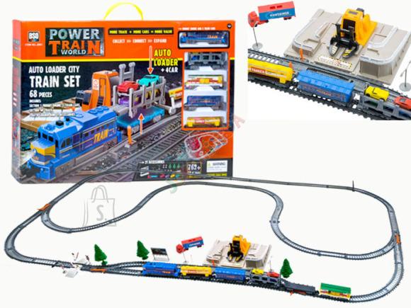 Kaubarongi komplekt koos depoo, autolaaduri ning autodega