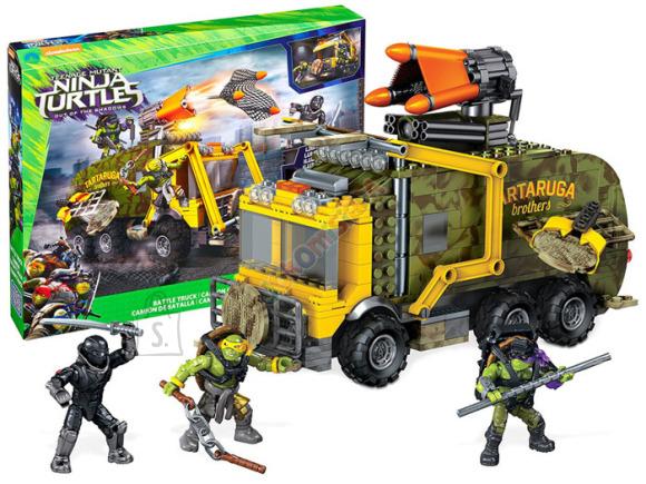 Ehitusklotside komplekt Ninja Turtles