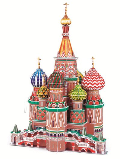3D pusle St.Basil cathedral