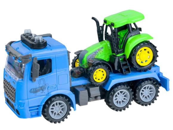 Mänguauto + traktor