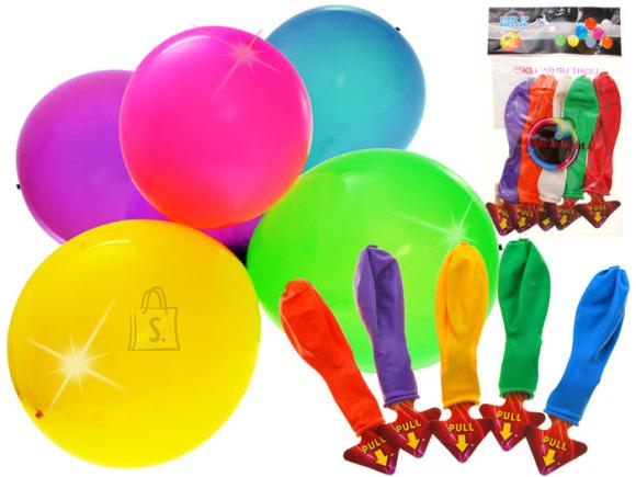 LED tuledega õhupallid 5 tk