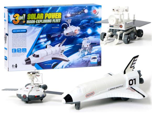 Solar power moon-exploring fleet Educational set 3in1  ZA2360