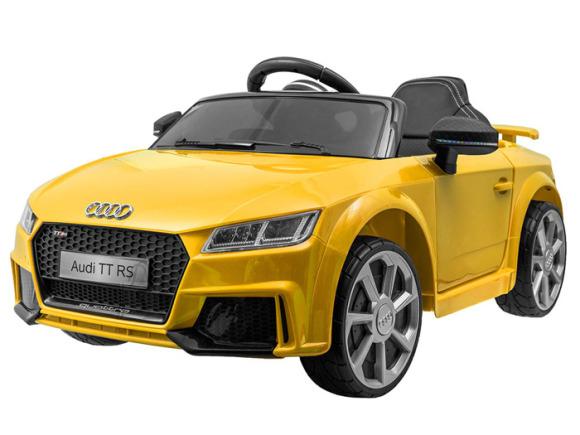 Kollane elektriauto Audi TT