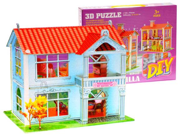 3D pusle Villa