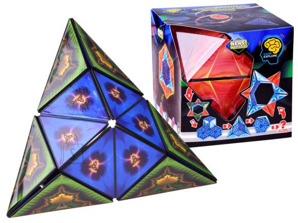 Asymmetric puzzle cube puzzle GR0328