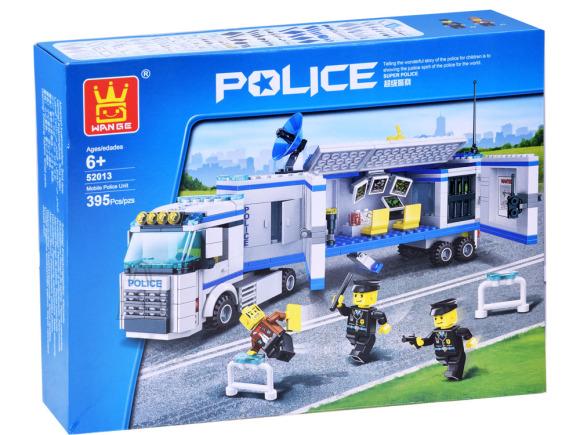 Mänguklotsid politsei ja pätt