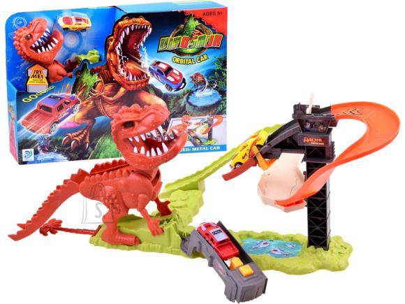 Super track autorada dinosaurusega
