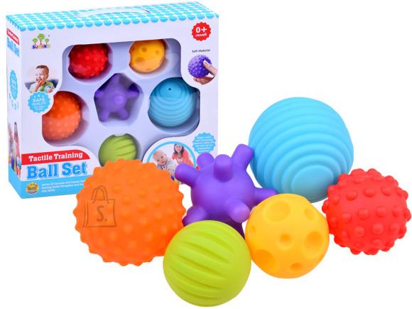 Mängukomplekt värvilsed pallid