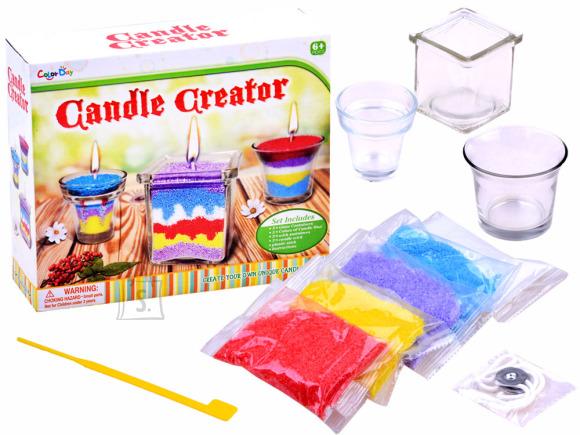 Küünla valmistamise komplekt lastele