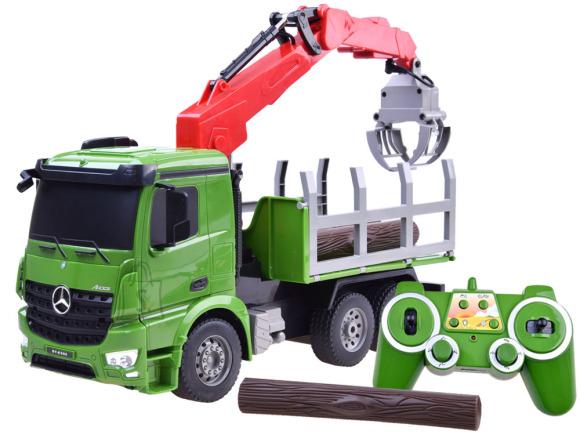 Raadioteel juhitav metsaveoauto