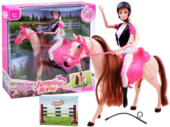 Glamuurne nukk Anily hobusega