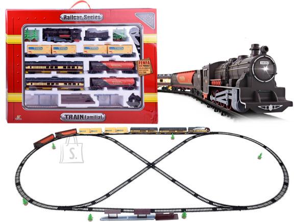 Rongirada rongi ja vagunitega