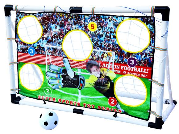 Jalgpallivärav täpsusmatiga lastele