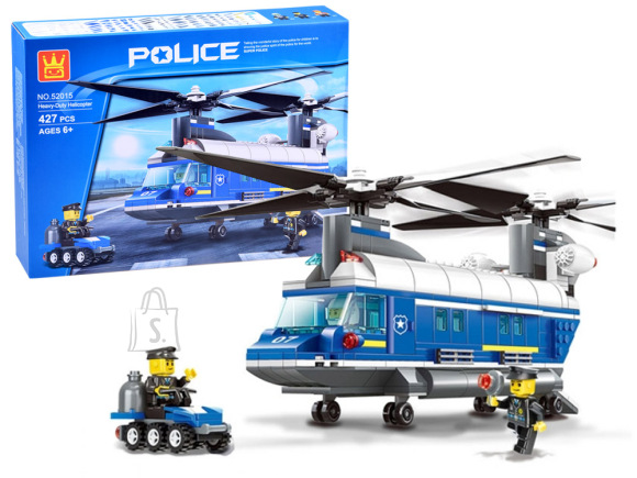 WANGE Ehitusklotsidekomplekt Politsei helikoper