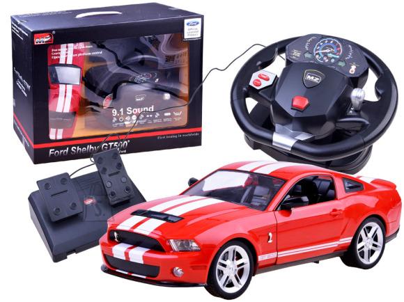Raadioteel juhitav rooliga sportauto Mustang