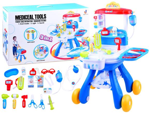 Mängu meditsiinikomplekt lastele