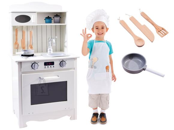Puidust mängu köögikomplekt