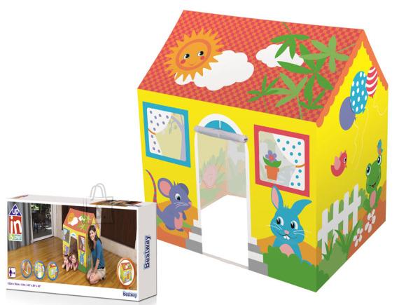 Bestway Yellow Cottage Tent for children 52007