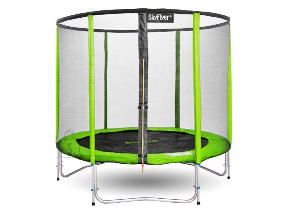 Garden trampoline SKYFLYER RING 2in1 180cm 6FT