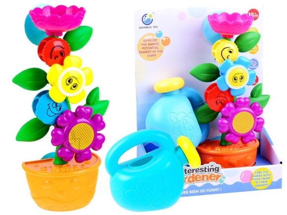 Bath toy watering can + FLOWER FOR 2336