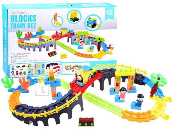 Värviline rongikomplekt