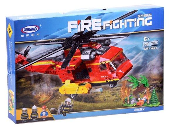 Ehitusklotsid pääste helikopter