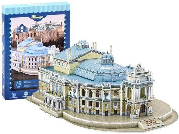 3D pusle Odessa ooperiteater