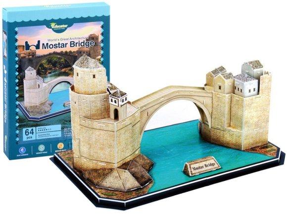 3D pusle Mostari  vana sild