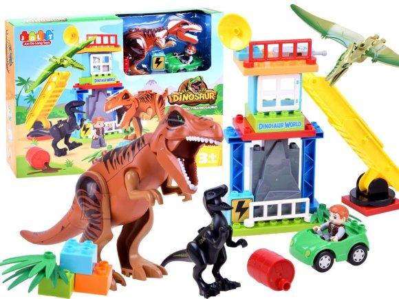 JDLT mänguklotsid Dinosauriste maailm