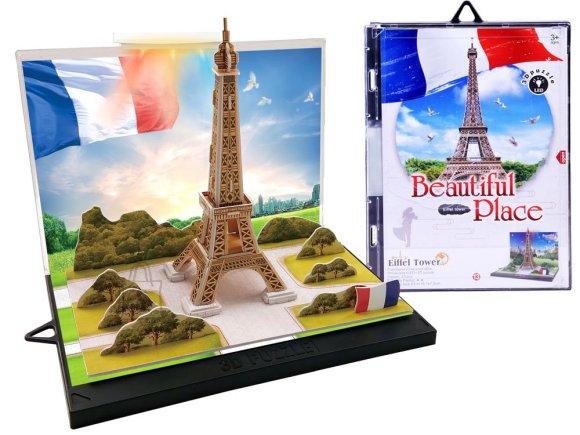 3D pusle Eiffeli torn