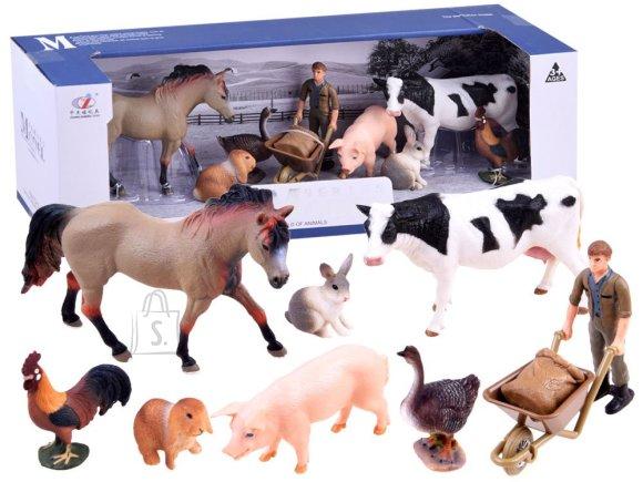 Mängukomplekt  Farmi loomad