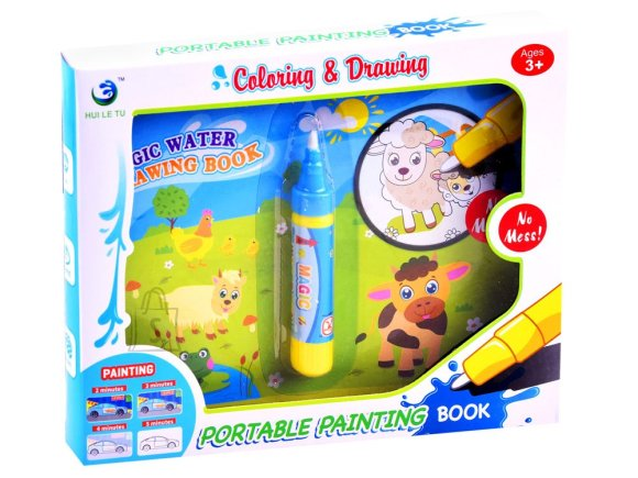 Water book for animals painted ZA2997