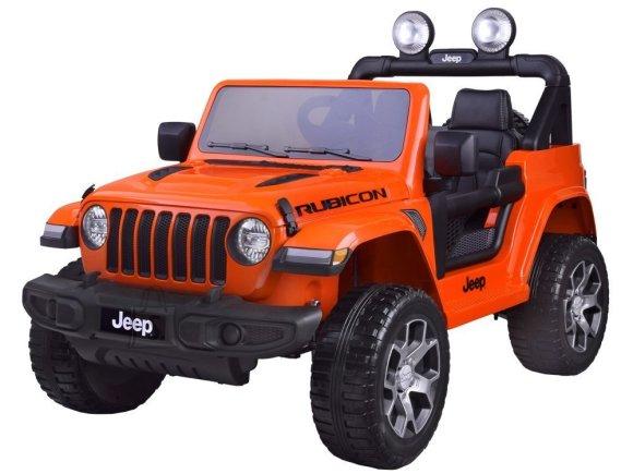 Elektriauto Jeep oranž