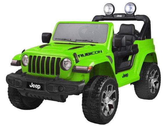 Elektriauto Jeep roheline